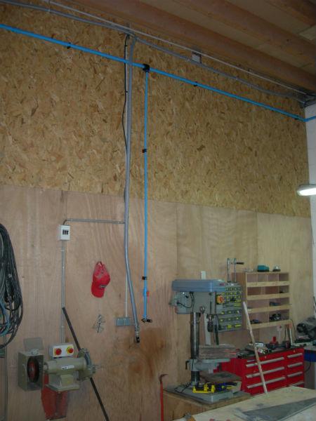 installation air comprim atelier. Black Bedroom Furniture Sets. Home Design Ideas