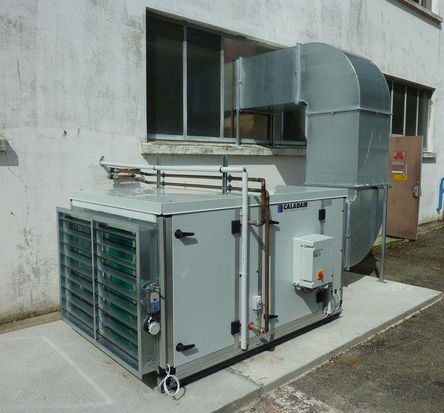Système de ventilation industriel